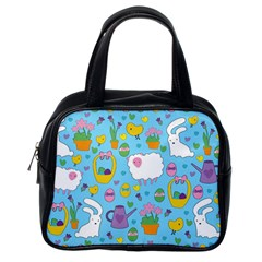 Cute Easter pattern Classic Handbags (One Side)