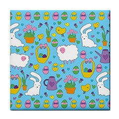 Cute Easter pattern Face Towel