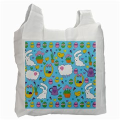 Cute Easter pattern Recycle Bag (Two Side)