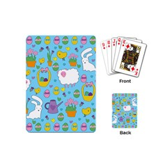 Cute Easter pattern Playing Cards (Mini)