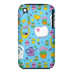 Cute Easter pattern iPhone 3S/3GS