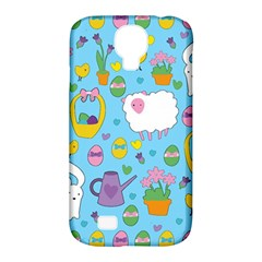 Cute Easter pattern Samsung Galaxy S4 Classic Hardshell Case (PC+Silicone)