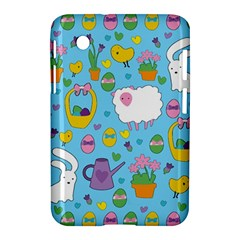 Cute Easter pattern Samsung Galaxy Tab 2 (7 ) P3100 Hardshell Case