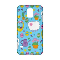 Cute Easter pattern Samsung Galaxy S5 Hardshell Case