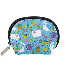 Cute Easter pattern Accessory Pouches (Small)