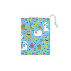 Cute Easter pattern Drawstring Pouches (XS)