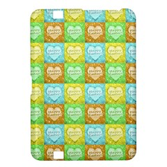 Colorful Happy Easter Theme Pattern Kindle Fire HD 8.9