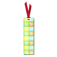 Colorful Happy Easter Theme Pattern Small Book Marks