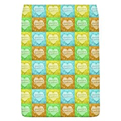 Colorful Happy Easter Theme Pattern Flap Covers (L)