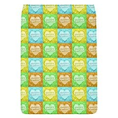 Colorful Happy Easter Theme Pattern Flap Covers (S)