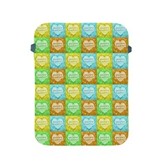 Colorful Happy Easter Theme Pattern Apple iPad 2/3/4 Protective Soft Cases