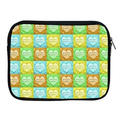 Colorful Happy Easter Theme Pattern Apple iPad 2/3/4 Zipper Cases