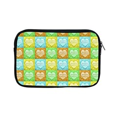 Colorful Happy Easter Theme Pattern Apple iPad Mini Zipper Cases