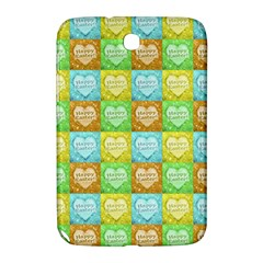 Colorful Happy Easter Theme Pattern Samsung Galaxy Note 8.0 N5100 Hardshell Case