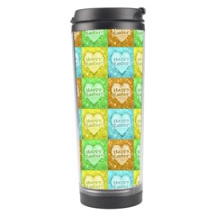 Colorful Happy Easter Theme Pattern Travel Tumbler
