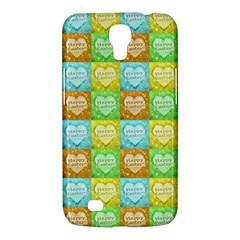 Colorful Happy Easter Theme Pattern Samsung Galaxy Mega 6.3  I9200 Hardshell Case