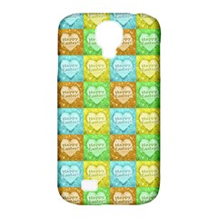 Colorful Happy Easter Theme Pattern Samsung Galaxy S4 Classic Hardshell Case (PC+Silicone)