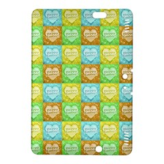 Colorful Happy Easter Theme Pattern Kindle Fire HDX 8.9  Hardshell Case