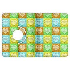 Colorful Happy Easter Theme Pattern Kindle Fire HDX Flip 360 Case