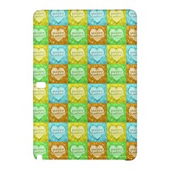 Colorful Happy Easter Theme Pattern Samsung Galaxy Tab Pro 10.1 Hardshell Case