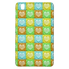 Colorful Happy Easter Theme Pattern Samsung Galaxy Tab Pro 8.4 Hardshell Case