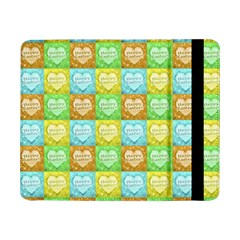 Colorful Happy Easter Theme Pattern Samsung Galaxy Tab Pro 8.4  Flip Case