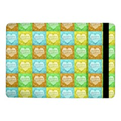 Colorful Happy Easter Theme Pattern Samsung Galaxy Tab Pro 10.1  Flip Case