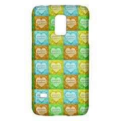 Colorful Happy Easter Theme Pattern Galaxy S5 Mini