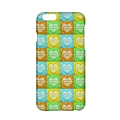 Colorful Happy Easter Theme Pattern Apple iPhone 6/6S Hardshell Case