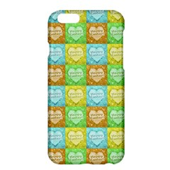 Colorful Happy Easter Theme Pattern Apple iPhone 6 Plus/6S Plus Hardshell Case