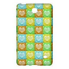 Colorful Happy Easter Theme Pattern Samsung Galaxy Tab 4 (8 ) Hardshell Case
