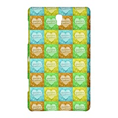 Colorful Happy Easter Theme Pattern Samsung Galaxy Tab S (8.4 ) Hardshell Case