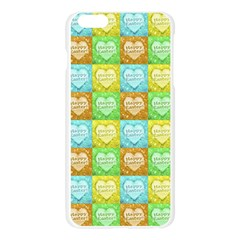 Colorful Happy Easter Theme Pattern Apple Seamless iPhone 6 Plus/6S Plus Case (Transparent)