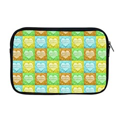 Colorful Happy Easter Theme Pattern Apple MacBook Pro 17  Zipper Case