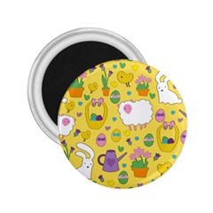 Cute Easter pattern 2.25  Magnets