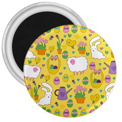 Cute Easter pattern 3  Magnets