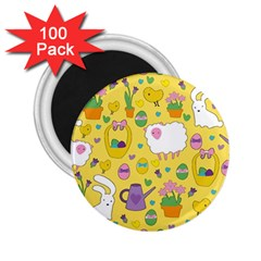 Cute Easter pattern 2.25  Magnets (100 pack)