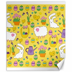 Cute Easter pattern Canvas 20  x 24
