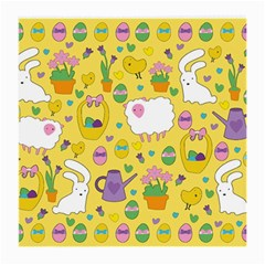 Cute Easter pattern Medium Glasses Cloth (2-Side)