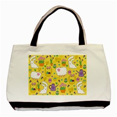 Cute Easter pattern Basic Tote Bag (Two Sides)