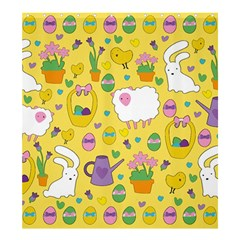 Cute Easter pattern Shower Curtain 66  x 72  (Large)