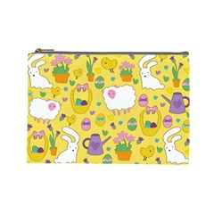 Cute Easter pattern Cosmetic Bag (Large)