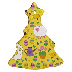 Cute Easter pattern Ornament (Christmas Tree)