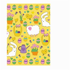 Cute Easter pattern Large Garden Flag (Two Sides)