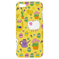 Cute Easter pattern Apple iPhone 5 Hardshell Case