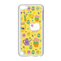 Cute Easter pattern Apple iPod Touch 5 Case (White)