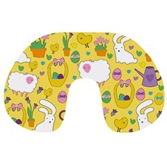 Cute Easter pattern Travel Neck Pillows