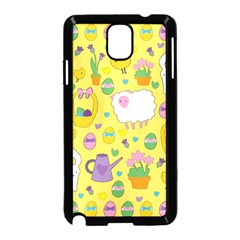 Cute Easter pattern Samsung Galaxy Note 3 Neo Hardshell Case (Black)
