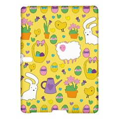 Cute Easter pattern Samsung Galaxy Tab S (10.5 ) Hardshell Case