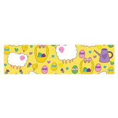 Cute Easter pattern Satin Scarf (Oblong)